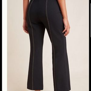 ANTROPOLOGIE The Essential Cropped Flare Trousers
